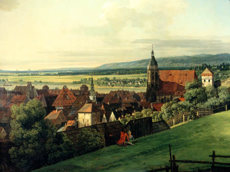 Bernardo Bellotto, Belotto (Canaletto) - Festung Sonnenstein, Pirna