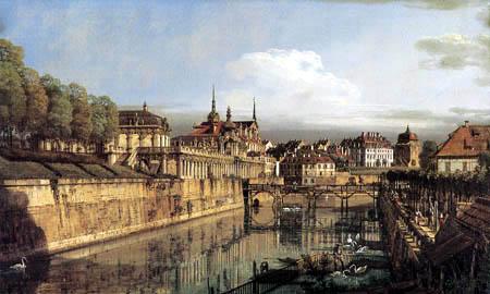Bernardo Bellotto, Belotto (Canaletto) - Dresden