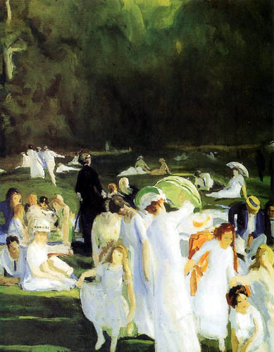 George Wesley Bellows - One Day in June
