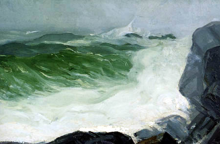 George Wesley Bellows - The Grey Sea