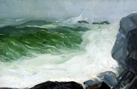 George Wesley Bellows - La mer grise