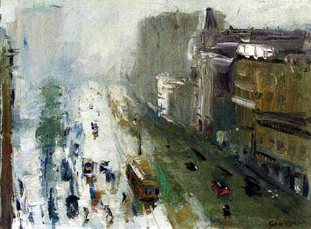 George Wesley Bellows - Upper Broadway