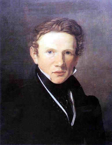 Wilhelm Bendz - Selbstbildnis