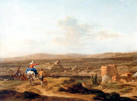 Nicolaes Berchem (Berghem, Berrighem) - Italienische Hochebene