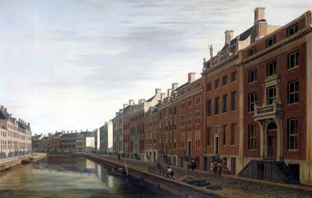 Gerrit Adriaensz. Berckheijde (Berckheyde) - Ansicht der Gouden Bocht