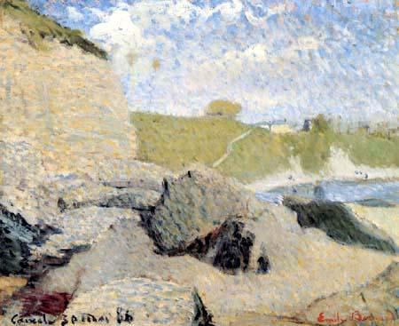 Émile Bernard - Der Strand von Cancale