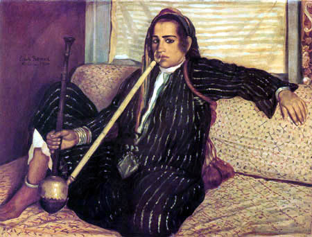 Émile Bernard - Hookah
