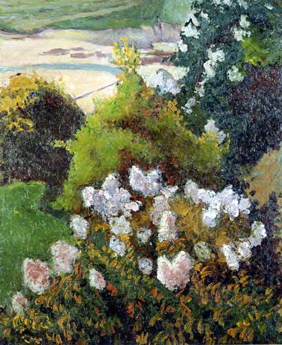 Émile Bernard - Landschaft bei Saint-Briac