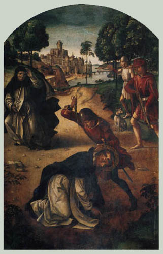 Alonso Berruguete - The death of Saint Peter Martyr