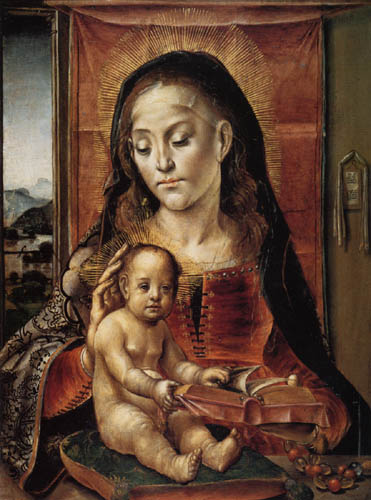 Alonso Berruguete - Mary with Child