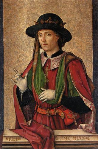 Alonso Berruguete - Ezequias