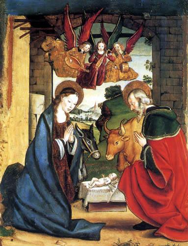Pedro Berruguete - The Birth of Jesus