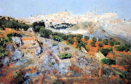 Aureliano de Beruete y Moret - Ansicht von Toledo