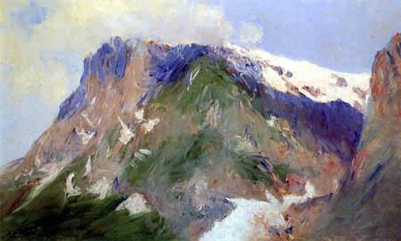 Aureliano de Beruete y Moret - Landscape near Grindelwald