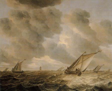Abraham H. van Beyeren - Sailing vessels