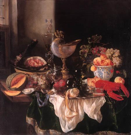 Abraham H. van Beyeren - Still Life with a Cup