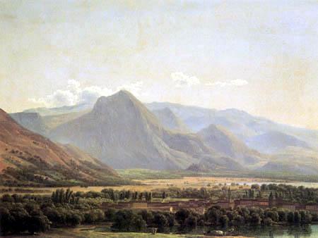 Jean Joseph Xavier Bidauld - View of Avezzano
