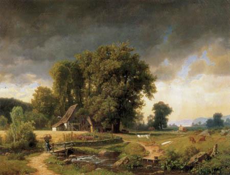 Albert Bierstadt - Westfälische Landschaft