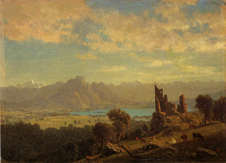 Albert Bierstadt - Landscape in South Tyrol