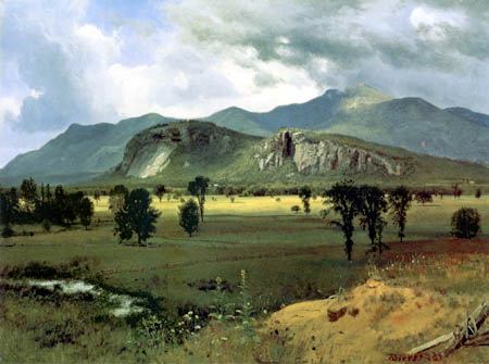 Albert Bierstadt - Moat Mountain, Intervale, New Hampshire