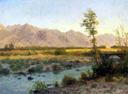 Albert Bierstadt - Prairie Landscape