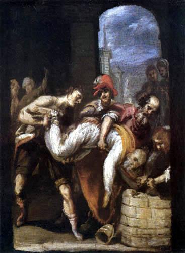 Giovanni Bilivert - Martyrdom of Saint Callixtus