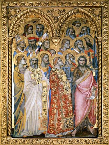 Giovanni del Biondo - Heiligenfiguren