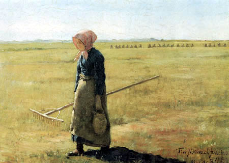 Oscar Björck - Girl on the way to harvest