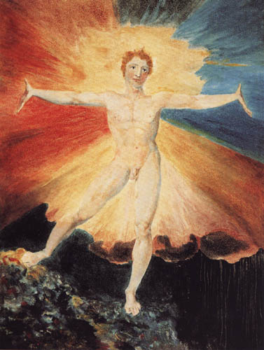 William Blake - The dance of Albion