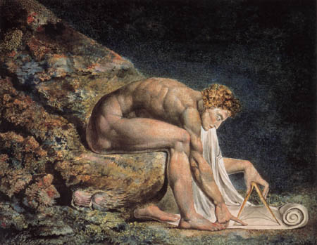 William Blake - Isaak Newton
