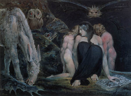 William Blake - Hekate
