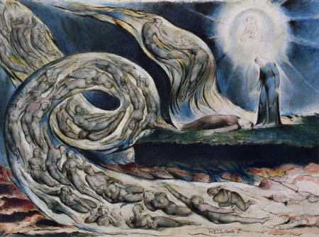 William Blake - The Lovers' Whirlwind