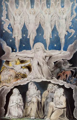 William Blake - Buch Hiob, Als die Morgensterne sangen
