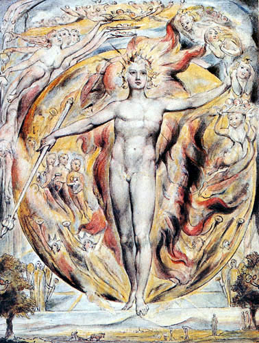 William Blake - The Sun at his Eastern Gate