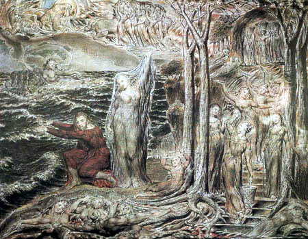 William Blake - The Arlington Court Picture