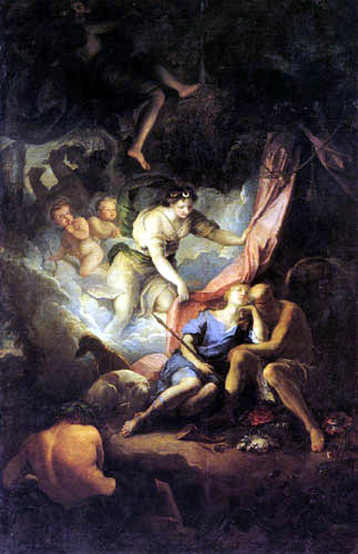 Gabriel Blanchard - Diana Discovers the Slumbering Endymion