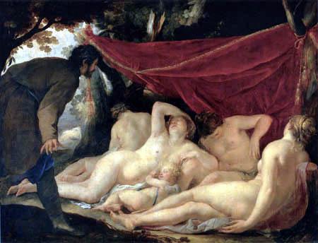 Jacques Blanchard - Venus and Graces