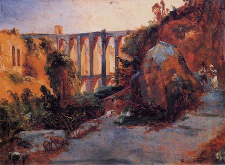 Karl Eduard Blechen - View of a Viadukt