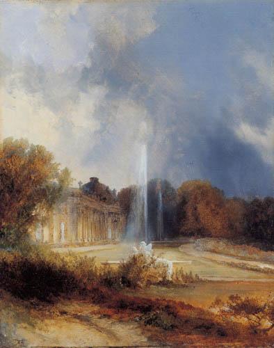 Karl Eduard Blechen - Schloss Sanssouci