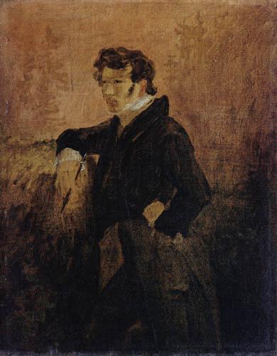 Karl Eduard Blechen - Selfportrait