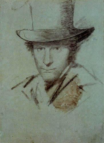Karl Eduard Blechen - Selbstbildnis