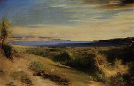 Karl Eduard Blechen - Golf von La Spezia