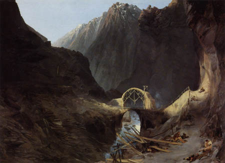 Karl Eduard Blechen - Devil's Bridge