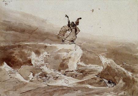 Karl Eduard Blechen - Surf