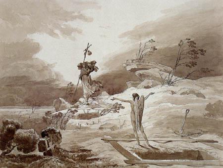 Karl Eduard Blechen - The Storm