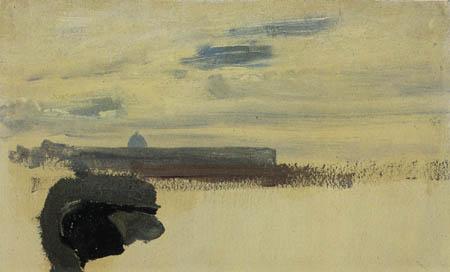 Karl Eduard Blechen - Sky scene