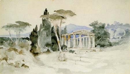 Karl Eduard Blechen - Italian Landscape