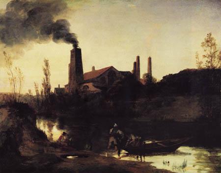 Karl Eduard Blechen - Rolling Mill