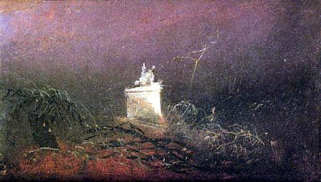Karl Eduard Blechen - Le tombeau