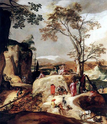 Abraham Bloemaert - Sermon on the Mount